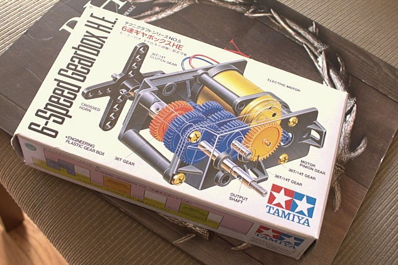 Tamiya 6-speed gear box